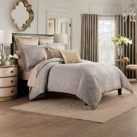Valeron Elandra Full/Queen Duvet Cover in Grey