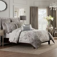 Valeron Fiesol Full/Queen Duvet Cover in Silver