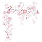 Lambs & Ivy® Happi by Dena™ Charlotte Wall Decals
