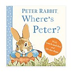 "Peter Rabbit ""Where's Peter?"" Board Book by Beatrice Potter"