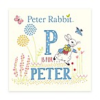 "Peter Rabbit™ ""P is for Peter"" Board Book by Beatrix Potter"