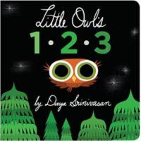 Little Owl's 123 Illustrated Book by Divya Srinivasan