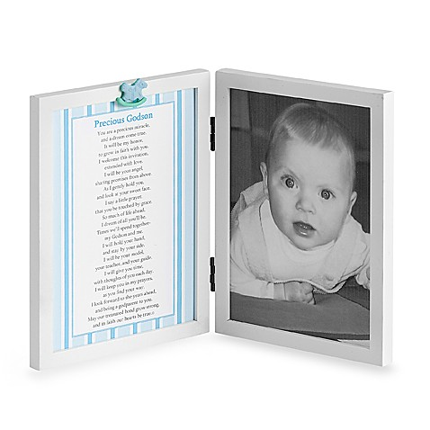 Precious Godson Photo Frame - Bed Bath & Beyond