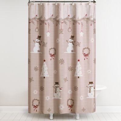 Buy Holiday Owls Shower Curtain From Bed Bath Beyond