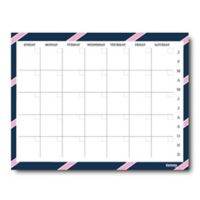 Kahootie Co® Monthly Calendar Notepad in Pink/Blue