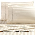 Wamsutta® Dream Zone® Stripe 1000-Thread-Count PimaCott® Queen Sheet Set in Ivory