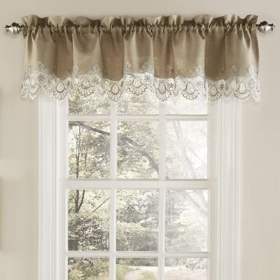 Buy Brown Valances for Windows from Bed Bath & Beyond