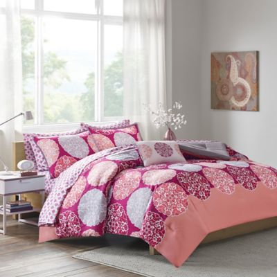 buy coral twin comforter from bed bath & beyond