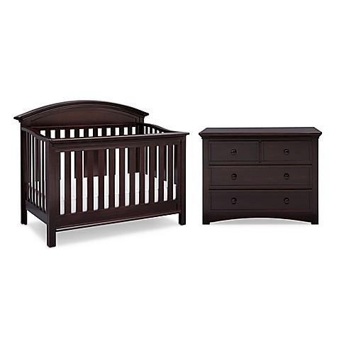 Serta aberdeen nursery furniture collection in dark for Furniture world aberdeen
