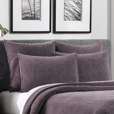 Perfect Buy Velvet Pillow Shams from Bed Bath & Beyond KF07