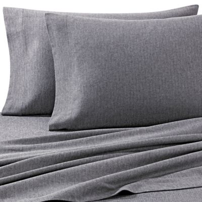 Buy Heather Grey Sheet Set From Bed Bath Amp Beyond