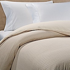 The Seasons Collection® Reversible Flannel Duvet Cover