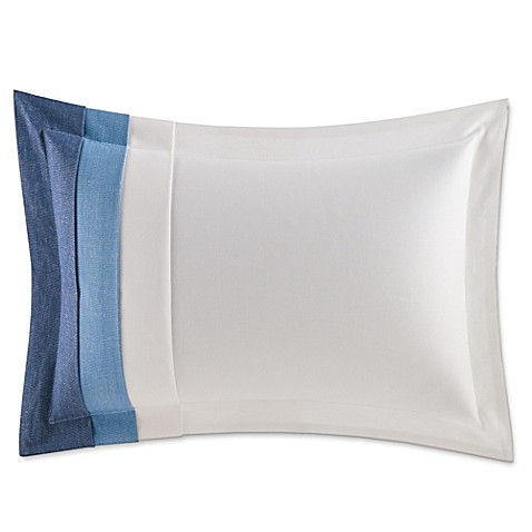 Nautica Broadwater Striped Oblong Throw Pillow in White - Bed Bath & Beyond