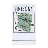 My Place Arizona Hand Towel in White