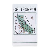 My Place California Hand Towel in White