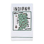 My Place Indiana Hand Towel in White