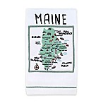 My Place Maine Hand Towel in White