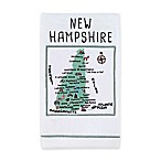 My Place New Hampshire Hand Towel in White