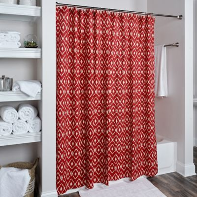 woolrich-red-striped-shower-curtain