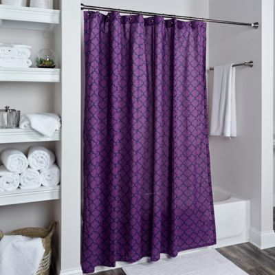 Buy Purple Shower Curtains From Bed Bath Beyond