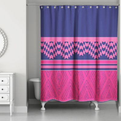 Buy Pink / Purple Curtains from Bed Bath & Beyond
