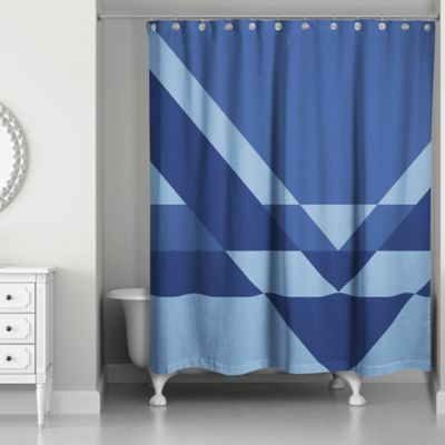 Buy Navy Blue Curtain from Bed Bath & Beyond