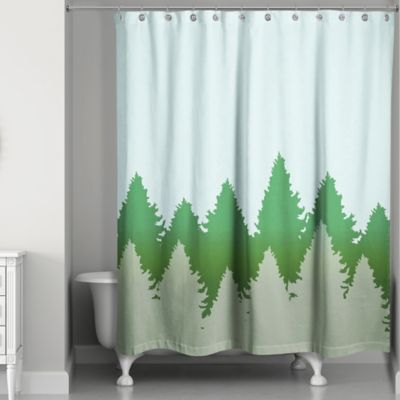 Charming Pines Shower Curtain - Buy Tree Shower Curtain From Bed Bath & Beyond