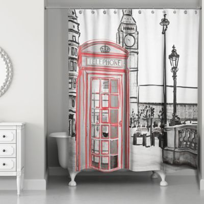 Buy Black and Red Curtains from Bed Bath & Beyond