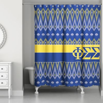 Buy Blue and Yellow Shower Curtain from Bed Bath & Beyond