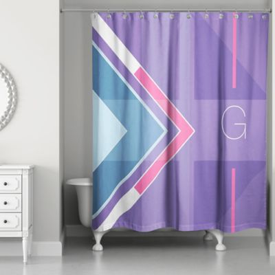 Buy Monogrammed Shower Curtains from Bed Bath & Beyond