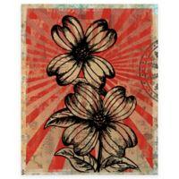 Viva Las Flores 2 Canvas Wall Art