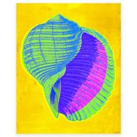 Bright Shell 3 Canvas Wall Art