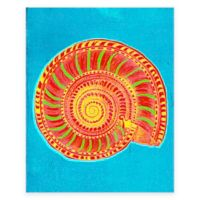 Bright Shell 2 Canvas Wall Art