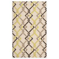 Surya Sutai 5-Foot x 8-Foot Indoor/Outdoor Area Rug in Ivory