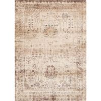 Loloi Rugs Anastasia Faded Border 2-Foot 7-Inch x 12-Foot Runner in Ivory Multi