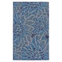 Feizy Lonni 2-Foot x 3-Foot Accent Rug in Gulf