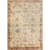 Loloi Rugs Anastasia Adora 5-Foot 3-Inch x 7-Foot 8-Inch Area Rug in Ivory/Rust