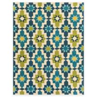 Surya Tennent 8-Foot x 10-Foot 6-Inch Indoor/Outdoor Area Rug in Lime