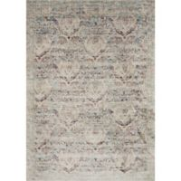 Loloi Rugs Anastasia Dove 5-Foot 3-Inch x 7-Foot 8-Inch Area Rug in Silver/Purple