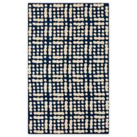 Surya Trikora 2-Foot x 3-Foot Area Rug in Navy