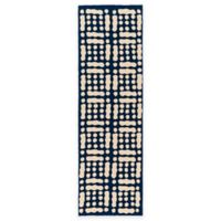 Surya Trikora 2-Foot 6-Inch x 8-Foot Area Rug in Navy