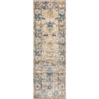 Loloi Anastasia 2-Foot 7-Inch x 8-Foot Runner in Sand/Blue