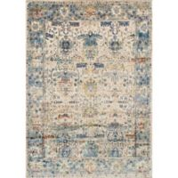 Loloi Anastasia 5-Foot 3-Inch x 7-Foot 8-Inch Area Rug in Sand/Blue