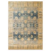 Loloi Rugs Anastasia Dromio 5-Foot 3-Inch x 7-Foot 8-Inch Area Rug in Blue/Gold