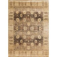 Loloi Rugs Anastasia Dromio 6-Foot 7-Inch x 9-Foot 2-Inch Area Rug in Coffee/Gold