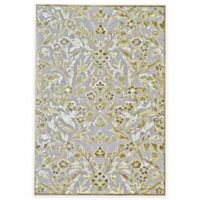 Feizy Marin 2-Foot 2-Inch x 4-Foot Accent Rug in Pewter/Dark Green