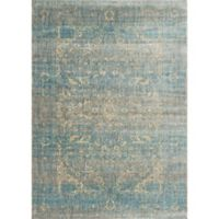Loloi Rugs Anastasia Portia 3-Foot 7-Inch x 5-Foot 7-Inch Area Rug in Light Blue