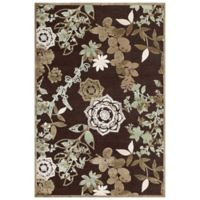 Feizy Marin 2-Foot 2-Inch x 4-Foot Accent Rug in Dark Chocolate/Sage