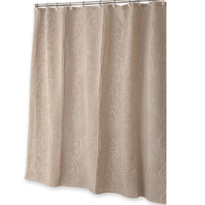 LenoxR French Perle Shower Curtain In Ivory
