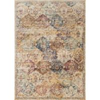 Loloi Rugs Anastasia Diamonds 3-Foot 7-Inch x 5-Foot 7-Inch Area Rug in Ivory Multi